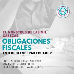 2018-11-07 Obligaciones Fiscales