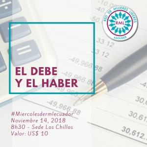 2018-11-14 El Debe y El Haber